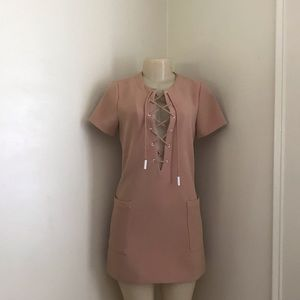 Kendall & Kylie Peach Dress
